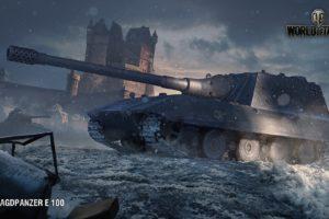 World of Tanks, Jagdpanzer E 100, Video games