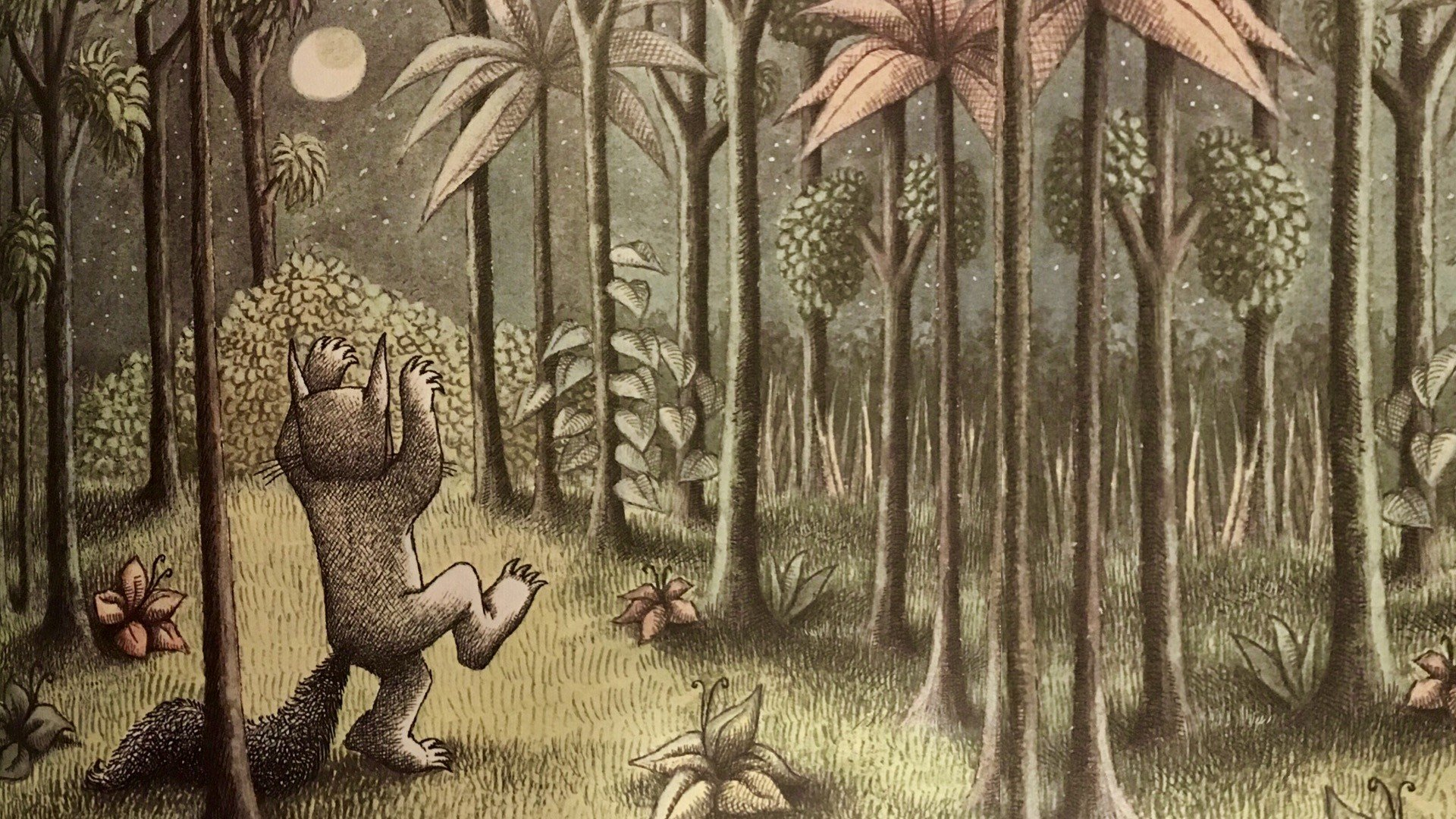 Maurice Sendak Where The Wild Things Are Night Forest Hd