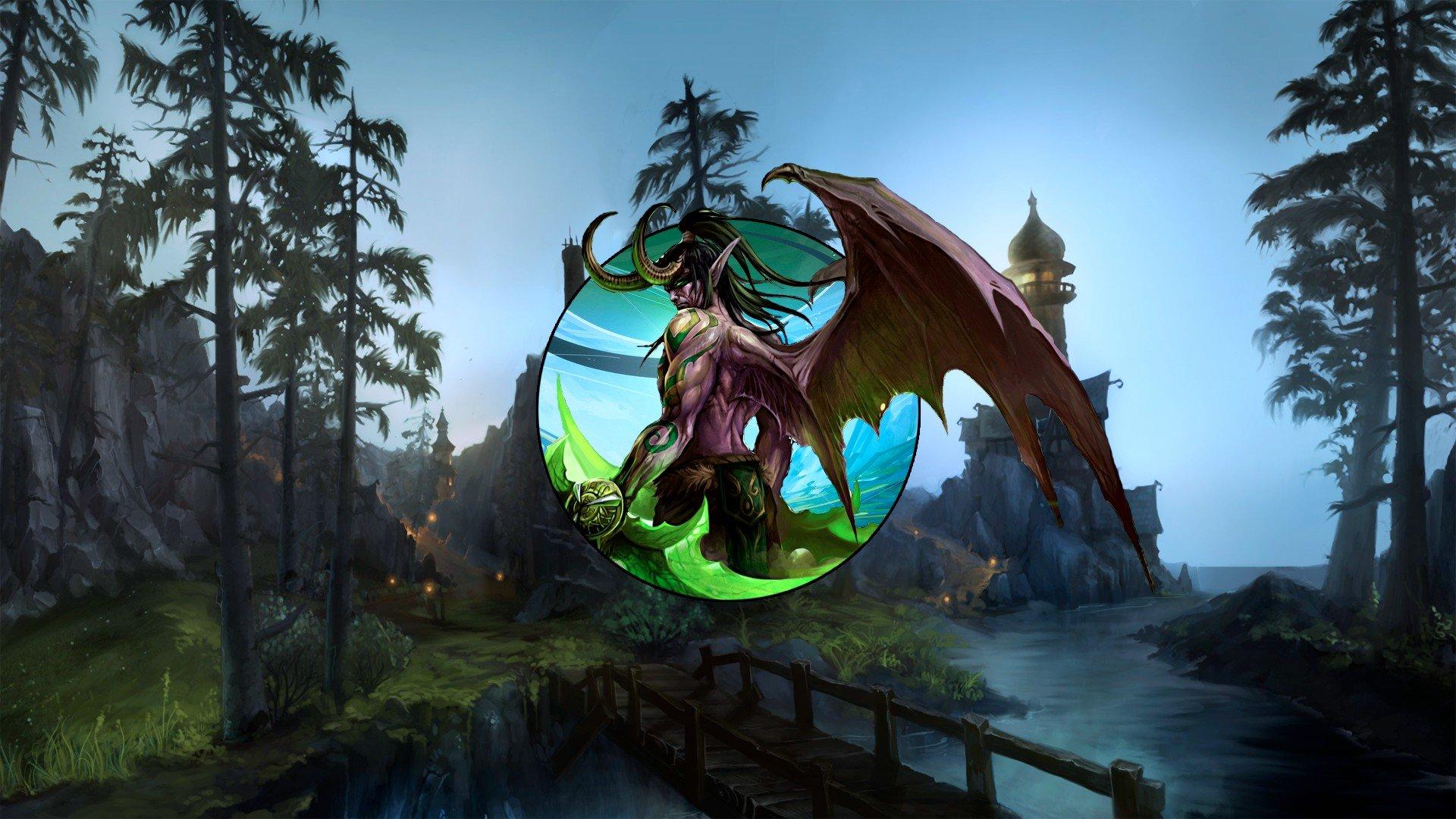 Illidan Illidan Stormrage World Of Warcraft Hd Wallpapers