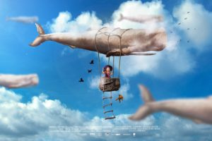 whale, Sky, Movie poster