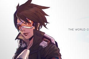 multiple display, Tracer (Overwatch), Video games, Quote, Overwatch