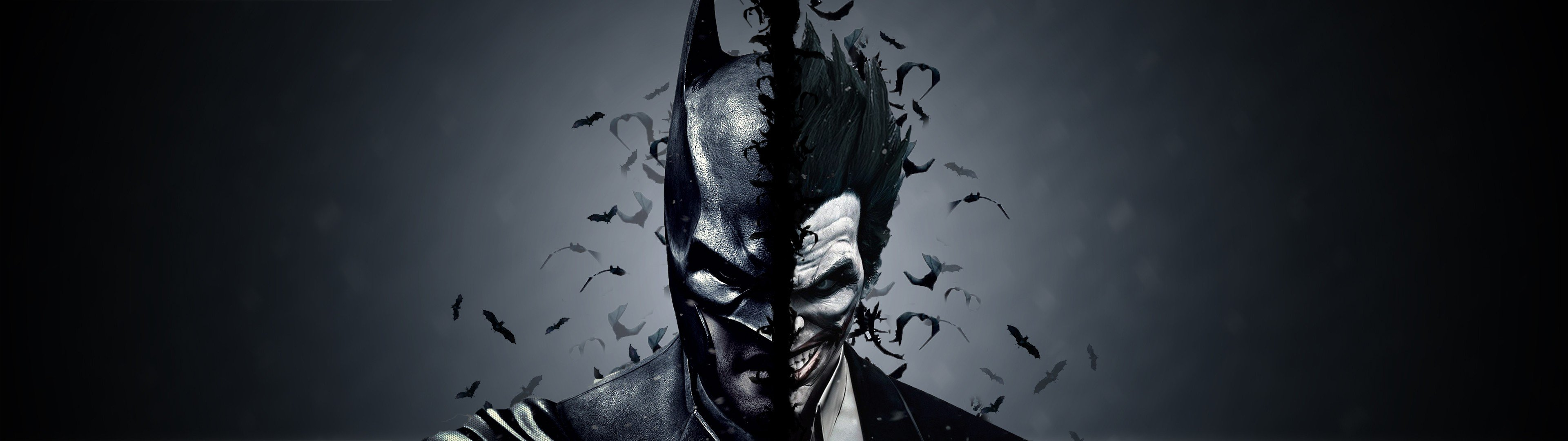 Joker Multiple Display Dual Monitors Batman Begins Hd