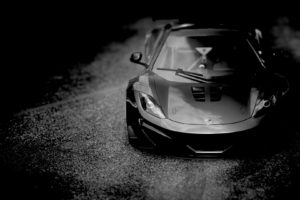 McLaren MP4 12C, Black cars