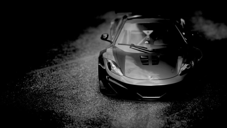 Mclaren Mp4 12c Black Cars Hd Wallpapers Desktop And Mobile