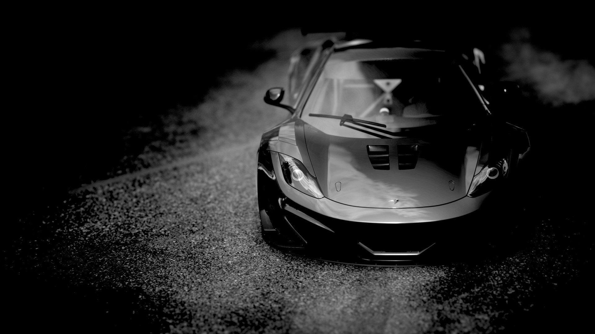 Mclaren Mp4 12c Black Cars Hd Wallpapers Desktop And Mobile Images Photos