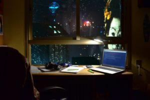 Blade Runner, Cyberpunk, Vaporwave, Photography, Programming