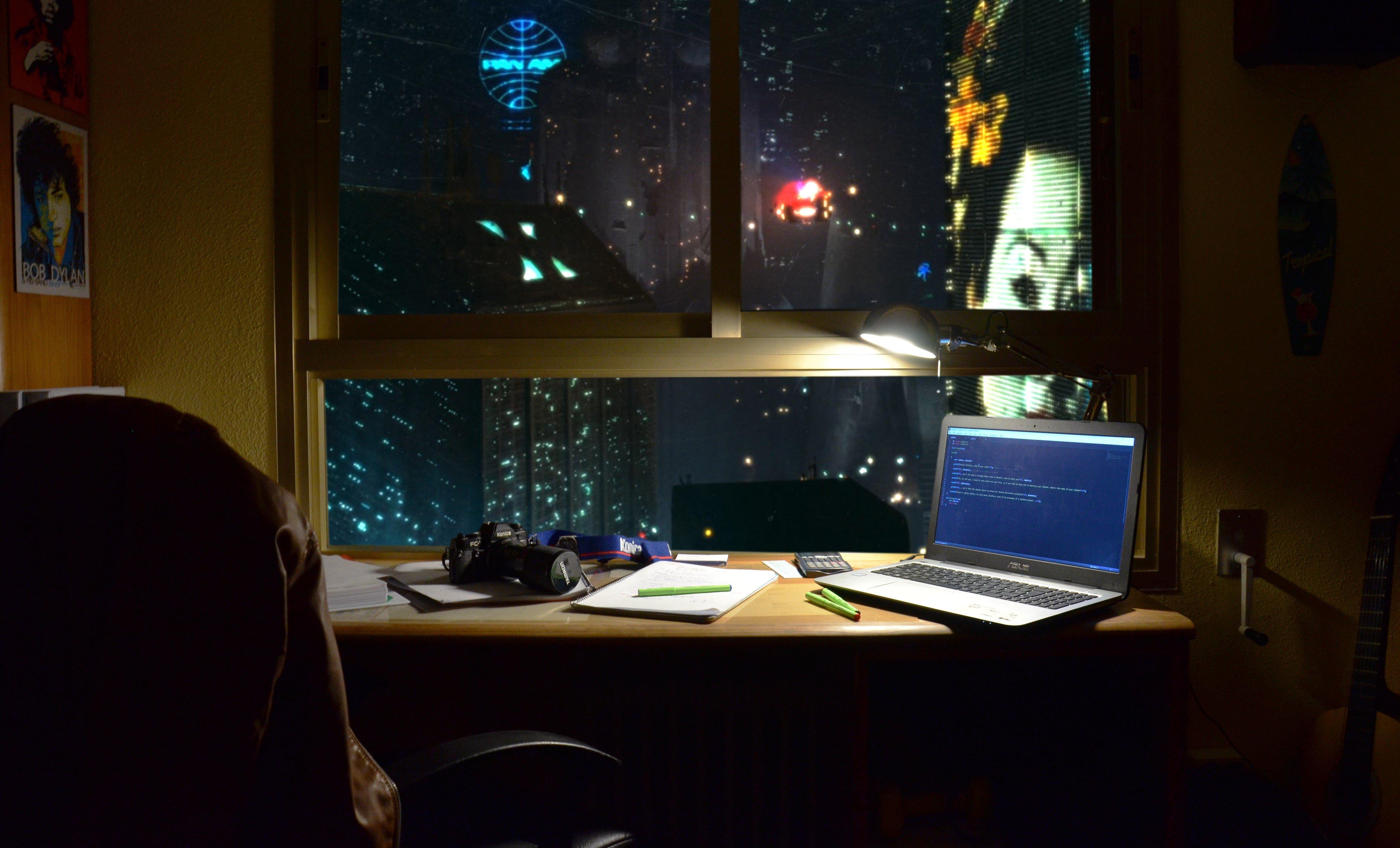 Blade Runner Cyberpunk Vaporwave Photography
