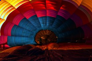 colorful, Red, Sunset, Blue, Yellow, Pink, Hot air balloons