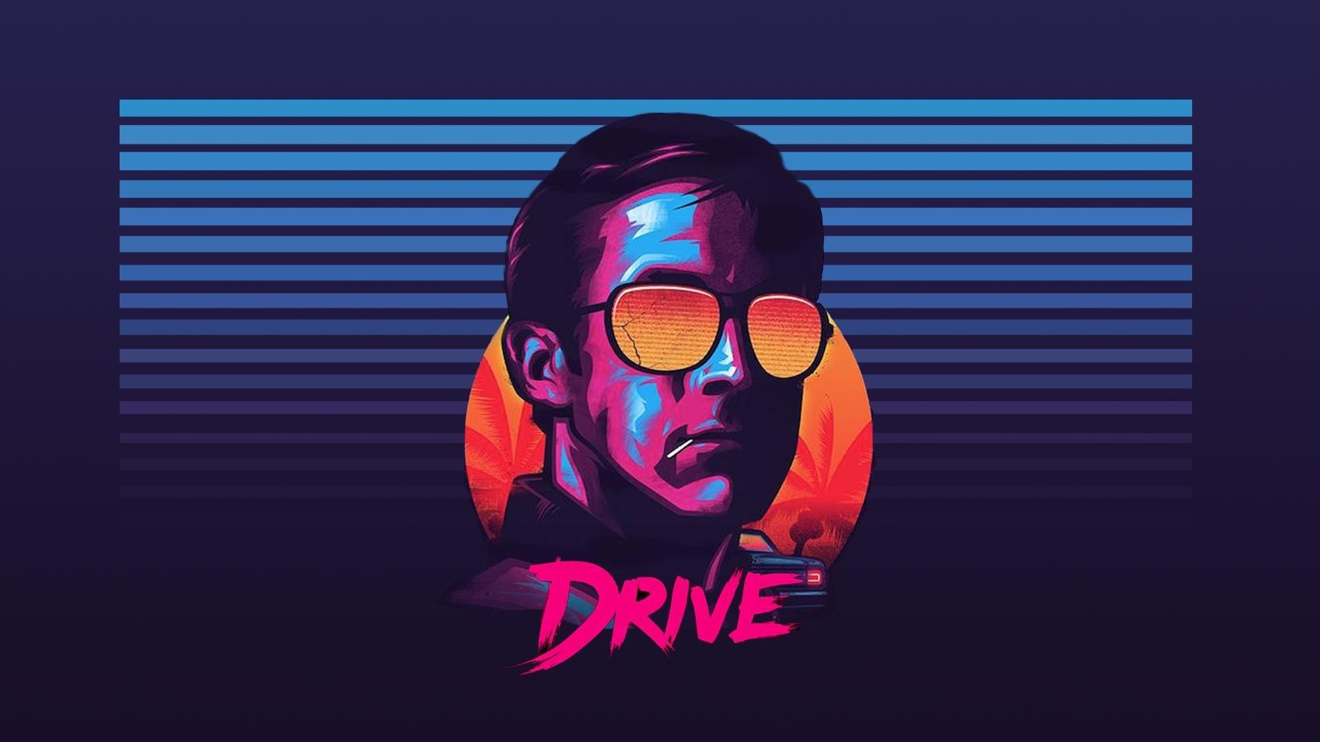 Ryan Gosling, Drive, Sunglasses, New Retro Wave HD ...