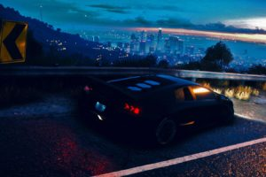 Need for Speed, 2015, Lamborghini Aventador, PC gaming, Landscape, Tuning, Sports car