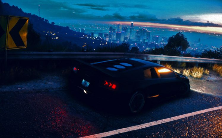Need for Speed, 2015, Lamborghini Aventador, PC gaming, Landscape, Tuning, Sports car HD Wallpaper Desktop Background