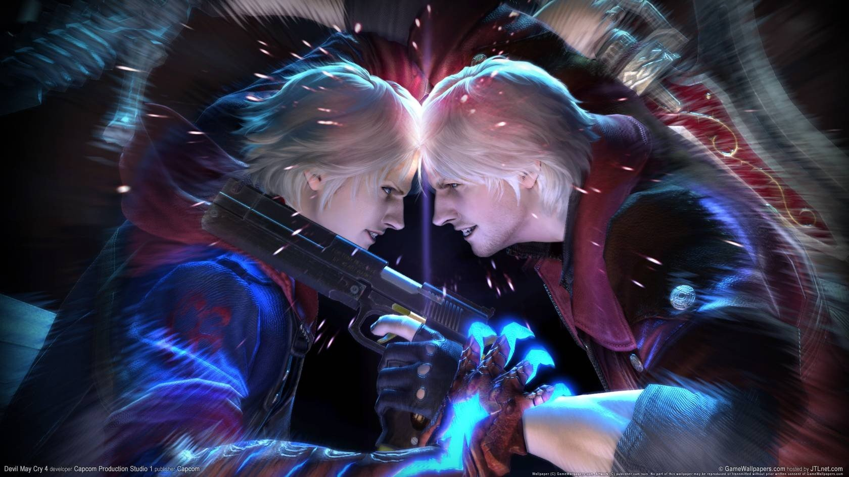 White Hair Dmc Devil May Cry Hd Wallpapers Desktop And Mobile