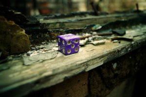 old, Ruin, Abandoned, Dice