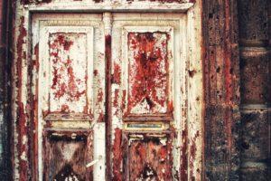 old, Door