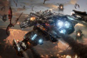 spaceship, Space, StarCraft, Starcraft II