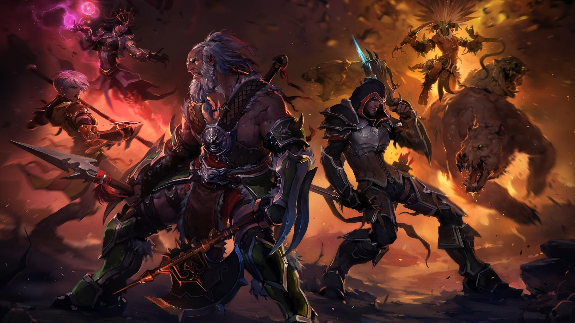 Warrior Video Games Diablo Diablo Iii Hd Wallpapers Desktop