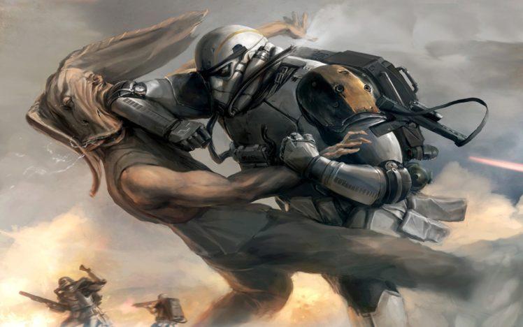 warrior, Star Wars HD Wallpaper Desktop Background