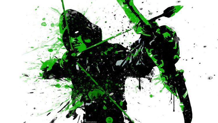 Green Arrow Superhero TV Series HD Wallpaper Desktop Background