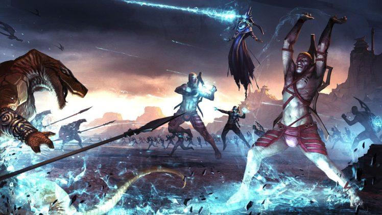 warrior, Video games HD Wallpaper Desktop Background