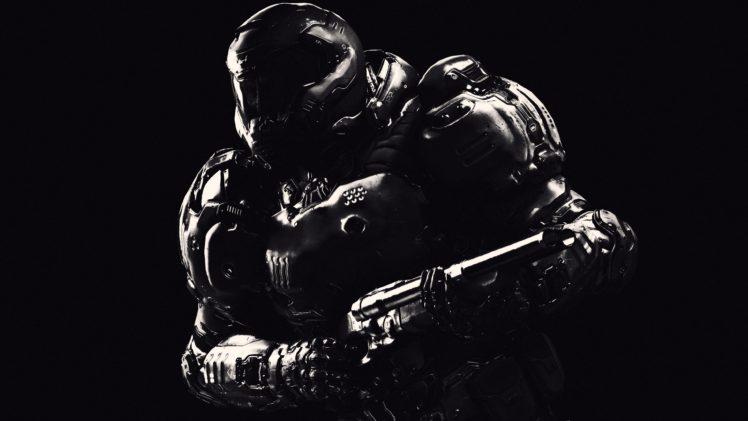 Doom Game Video Games 2016 HD Wallpaper Desktop Background