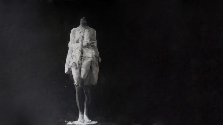 Headless Painting Depressing Horror Sadness Oil HD Wallpaper Desktop Background