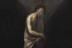 painting, Depressing, Horror, Sadness, Oil painting, Nicola Samori