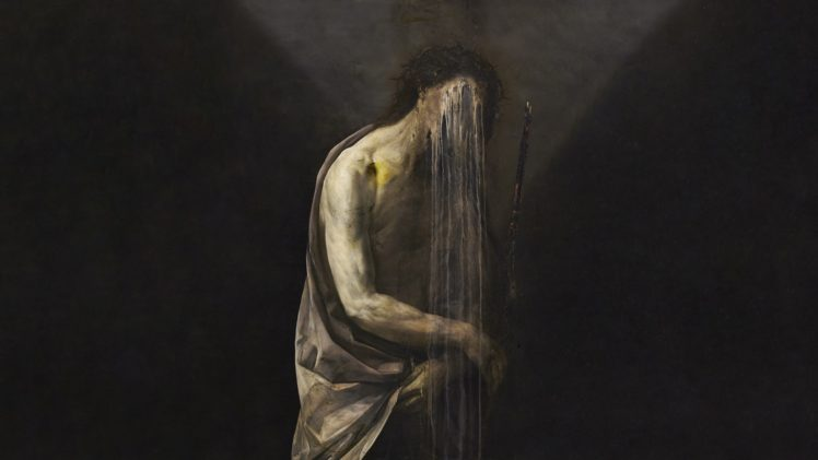 Painting Depressing Horror Sadness Oil Painting Nicola