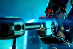 Black Widow (Overwatch), Overwatch, Widowmaker