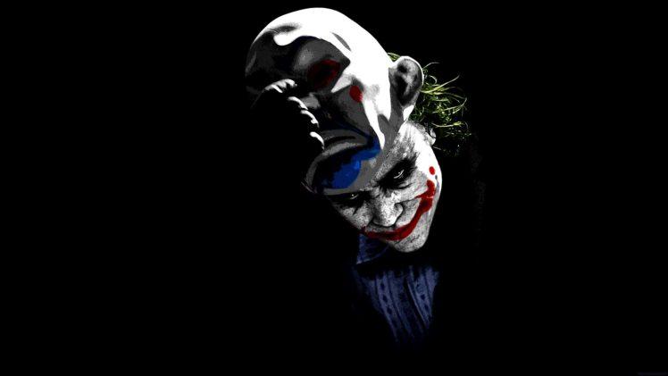 Joker Black Background Hd Wallpapers Desktop And Mobile Images Photos