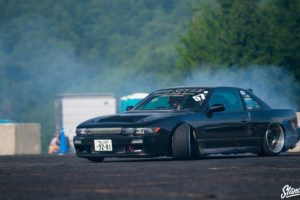 car, Black cars, Drift