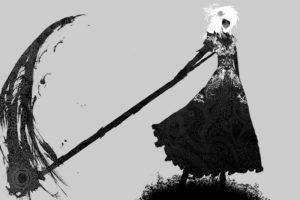 scythe, Monochrome