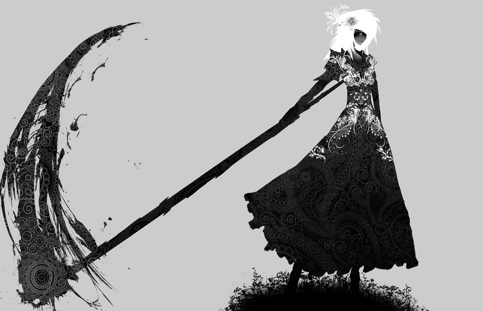 scythe  monochrome hd wallpapers    desktop and mobile images  u0026 photos