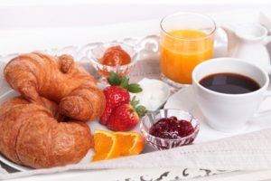 croissants, Tea, Food