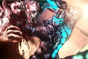 Isaac Clarke, Horror, Necromorphs
