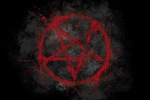 pentagram, Black