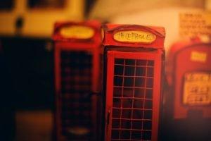 blurred, Telephone