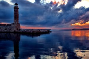 water, Lighthouse