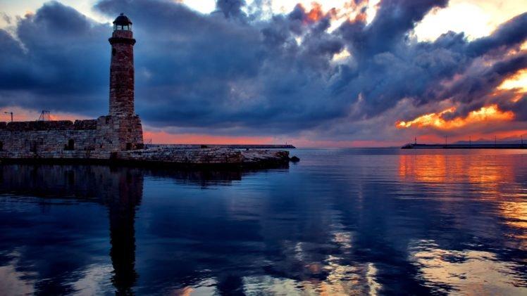 water, Lighthouse HD Wallpaper Desktop Background