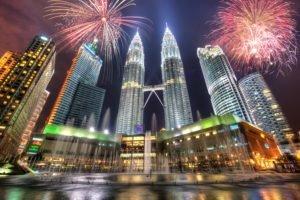Petronas Towers, Kuala Lumpur, Malaysia, Cityscape
