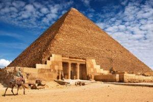 pyramid, Desert, Stones