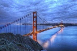 bridge, San Francisco, USA, Golden Gate Bridge