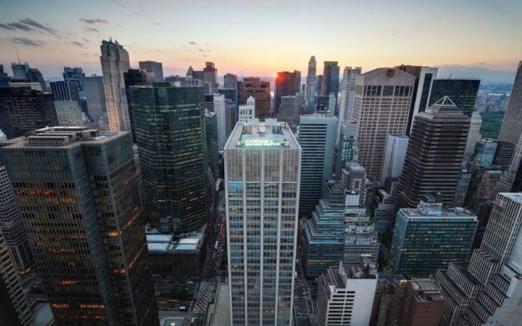 cityscape, New York City, USA, Building HD Wallpaper Desktop Background