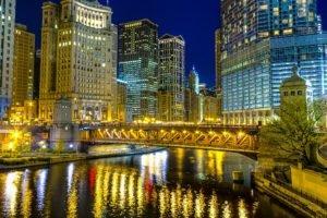 cityscape, Chicago, USA