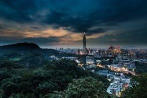 cityscape, Taipei, Thailand, Taipei 101