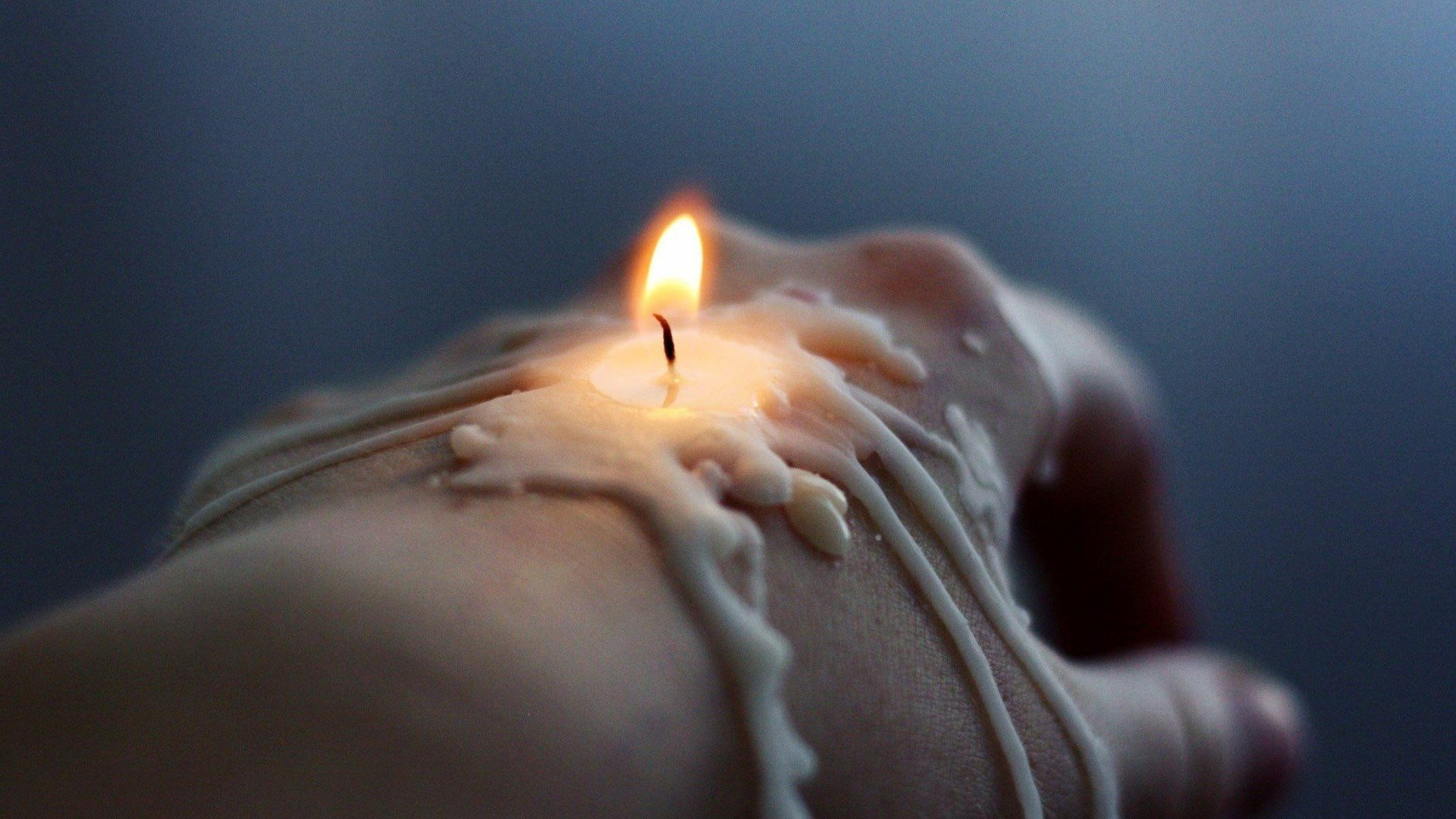 Candle Art Hd Wallpaper: Hand, Candles, Fire, Wax HD Wallpapers / Desktop And