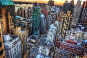 city, New York City, USA
