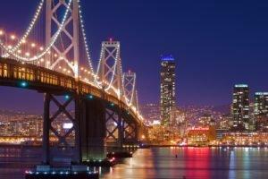 cityscape, Bridge
