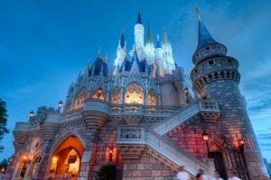castle, Disneyland