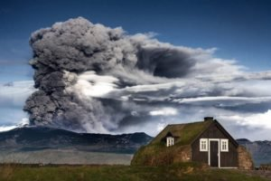 Iceland, Eruption, Mountain, Volcano