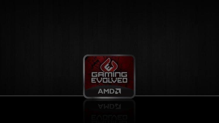 AMD, Logo HD Wallpaper Desktop Background